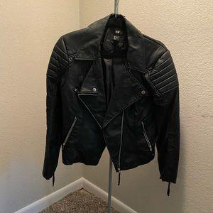 H&M‼️ Black Biker Jacket